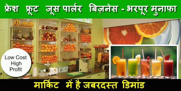 fruit juice shop business