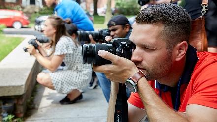 news photographer